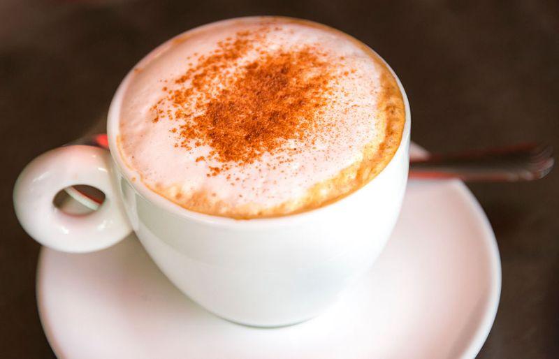 Кофе (капучино)