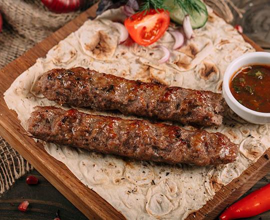 Шашлык люля кебаб из баранины